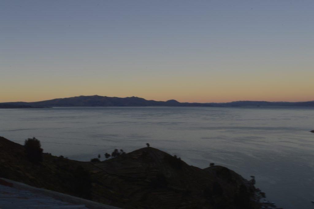 Lago Titicaca. Amanecer